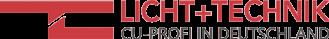 Licht + Technik Aachen Logo, Hersteller von Stromschienen
