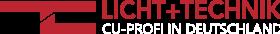 Logo 2 Farben schwarzer Hintergrund